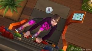 Скалолазание в The Sims 4 Фитнес