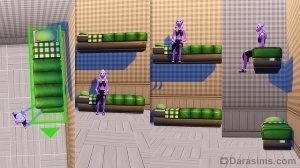 Двухуровневая кровать в The Sims 4