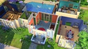 строительство в симс 4