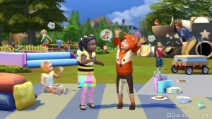 Каталог «The Sims 4 Детские вещи»