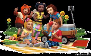 Рендер каталога The Sims 4 Детские вещи