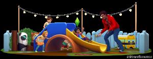 Горки в каталоге The Sims 4 Детские вещи