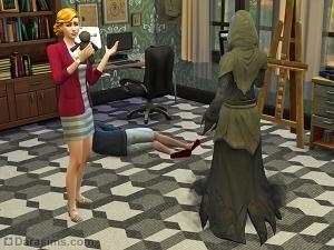 Кукла Вуду и Смерть в Симс 4