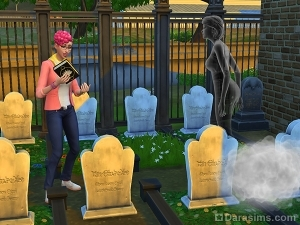 Призыв призрака с помощью книги жизни