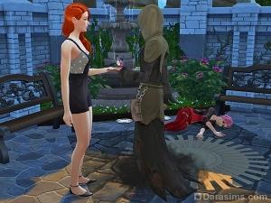 Цветок смерти в Sims 4