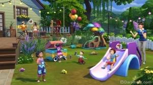 детский праздник в Симс 4 Детские вещи