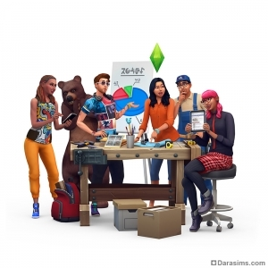 Ваш голос имеет значение! Символ для каталога «The Sims 4 Стирка»