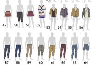 Выбор одежды для экологичного каталога Симс 4