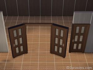 Удаляем лишнюю дверь