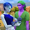 Инопланетяне (пришельцы) и НЛО в «Симс 4 На работу»