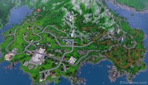 Карта Хидден Спрингс
