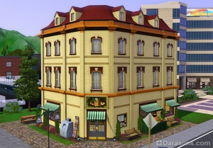 Бакалея Хидден Спрингс в Sims 3 Store