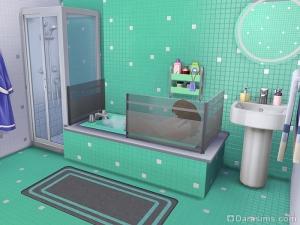 отделка ванны в Симс 4