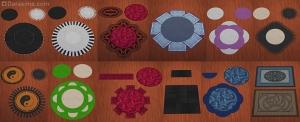 комбинирование ковров