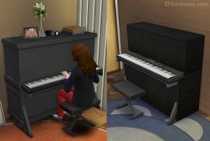 пианино в симс 4