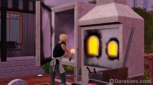 Стеклодувная и ювелирная станция ремесленника и мастерская художника «Призма» в The Sims 3 Store