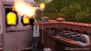 Ожоги в Симс 3