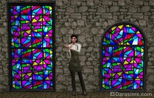 Окна с состаренным стеклом