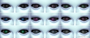 Глаза инопланетян в The Sims 4