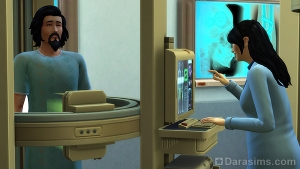 Раскрытие пришельца на рентгене