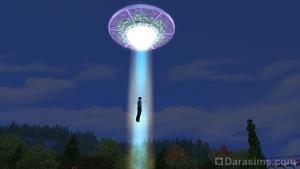 НЛО в The Sims 4