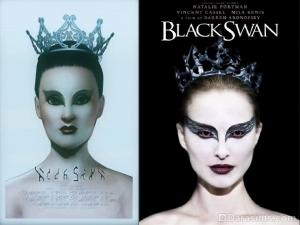 Симс 3 постер фильма Черный лебедь