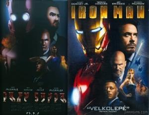Симс 3 постер фильма Железный человек