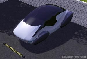 Авто Делориан из будущего