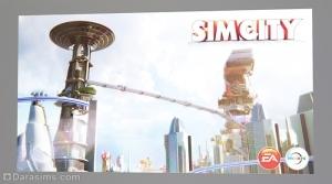 Постер Симсити в Симс 3