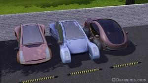 Автомобили из Симс 3 В будущее