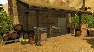 Кухня в базовом лагере