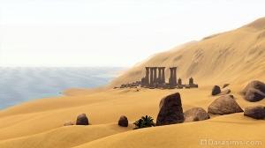 Руины Карнака в Аль-Симаре