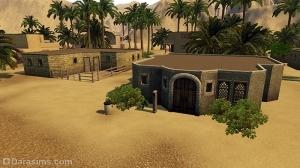 Типичные дома Аль-Симары