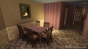 Столовая жилого дома