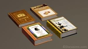 Книги Египта из Симс 3
