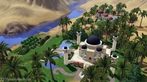 Роскошные дворцы в Аль-Симаре