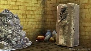 Саркофаг в гробнице