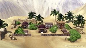 Пустынный окоем в Аль-Симаре