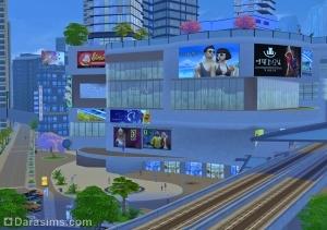 Модный район Симс 4 Жизнь в городе