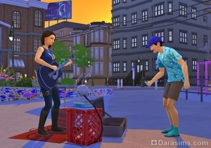 Выступать за чаевые в The Sims 4