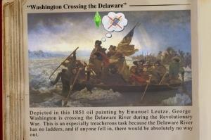 Вашингтон пересекает Делавэр