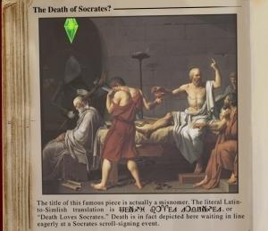 Смерть Сократа?