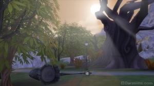 Лежащие фонари в Форготн Холлоу