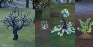 Растения в Форготн Холлоу