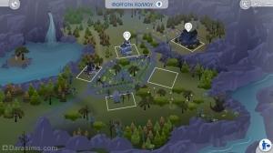 Карта города Форготн Холлоу