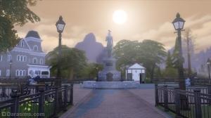 Центральная площадь города Форготн Холлоу