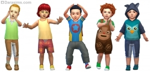 Стилизованные образы для мальчиков