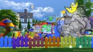 Воображаемые игры на детской площадке