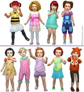 Стилизованные образы для девочек
