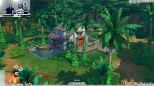 вилла для аренды в the sims 4 приключения в джунглях